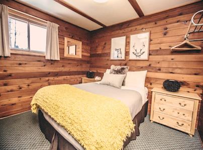 Fernie BC Cabin room